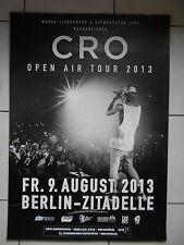 CRO 2013 BERLIN  orig.Concert-Konzert-Tour-Poster-Plakat DIN A1