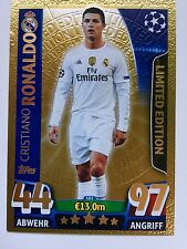 Match Attax Champions League 2015-2016_Limited Edition Gold LE1 Ronaldo
