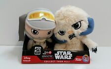 FUNKO STAR WARS GALACTIC HEROES LUKE AND WAMPA PLUSH TOY GAME STOP EXCLUSIVE