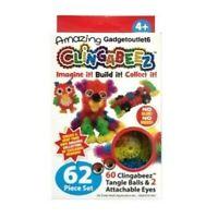 62 Piece Set Clingabeez Creative Craze Tangle balls Fun Craft Activity Kids