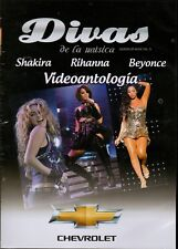 DIVAS DE LA MUSICA (Queens Of Music Vol. 3)Shakira,Rihanna,Beyonce DVD