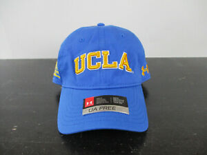 NEW UCLA Bruins Hat Cap Strap Back Blue Yellow Under Armour Football Mens