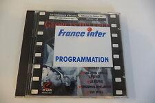 ORIGINAL SOUNDTRACKS GEORGES DELERUE CD FRANCE INTER PROGRAMMATION STICKER.
