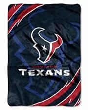 Licensed NFL Houston Texans Football Royal Soft Plush King Size Throw Blanket