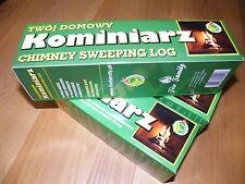 Barredora de registro de limpieza de chimenea chimenea hollín y limpiador de chimenea, producto ecológico Brillo
