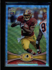 ALFRED MORRIS 2012 TOPPS CHROME BLUE WAVE REFRACTOR ROOKIE RC #101 AB8675