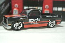 Hot Wheels '83 Chevy Silverado Pickup Truck Loose Black Shop Trucks Car Culture