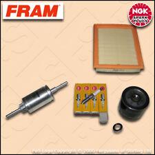 SERVICE KIT FORD FIESTA MK6 1.25 16V FRAM OIL AIR FUEL FILTERS PLUGS (2002-2008)