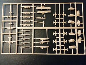 Vintage 1984 Axis & Allies Board Game Parts Tan Planes,Ships,Tanks