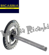 8242 - ASSE PEDALIERA PER BRACCIO PEDALE Z26 PIAGGIO 50 CIAO P PX SC