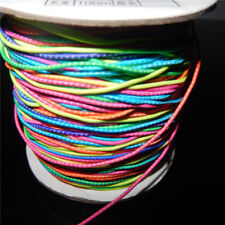 5 Meters Colorful Elastic Thread Cords 1mm String Wire Cord DIY Jewelry Making