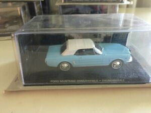 James Bond Die Cast Car Collection 30 Ford Mustang Thunderball