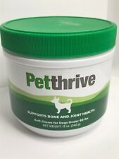 Petthrive Soft Chews for Dogs Under 60 Lbs  (12 oz) Exp 02/2021