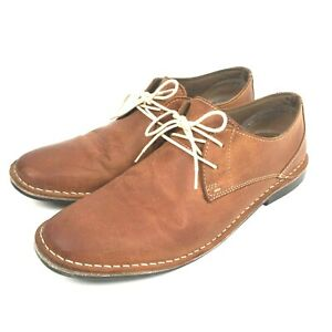 Red Tape Size 12 Men's Oxford Lace Up Brown Shoes pre-owned A14410