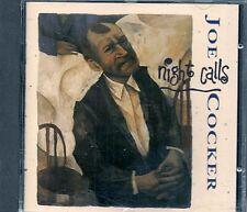 CD ALBUM 12 TITRES--JOE COCKER--NIGHT CALLS--1991