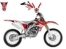 Blackbird Graphics Decal Kit Honda CRF250 R 2004 2009 CRF250X 2004 2014