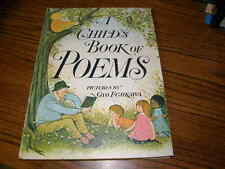 462)  A Child's Book Of Poems Pictures Hardcover Gyo Fujikawa 1969 1st Edition
