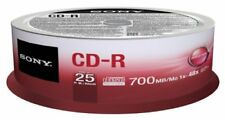 Sonysony 25cdq80sp Cd-r 700mb 25pz Spindle