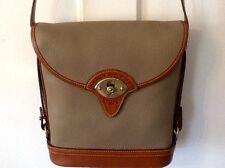 Vintage Authentic Dooney And Bourke Leather Crossbody Spectator Bag Orginal Box