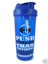 Ski Gym Protien Shaker Sipper bottle +700ml, Milk shake Blue Color BPA Free