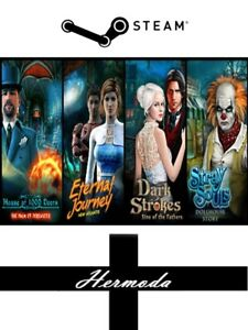 Hidden Object Bundle 4 in 1 Steam Key for PC Windows (Same Day Dispatch)