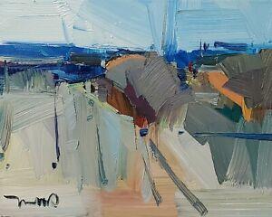 JOSE TRUJILLO Oil Painting IMPRESSIONISM CONTEMPORARY MODERN LANDSCAPE 9X12