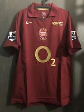 retro shirt 0506 Highbury Henry Arsenal Premier League Vintage jersey