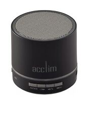 Acctim Tempo Wireless Bluetooth Speaker Microphone Hands Free Flashing Lights