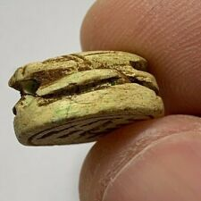 Ancient Egyptian Scarab Beetle, Late Period 664 - 332 Bc 21.0mm