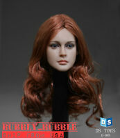 "1/6 American Female Head Sculpt For 12"" Phicen Hot Toys VERYCOOL Figure ☆USA☆"