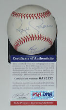 ROYCE GRACIE SIGNED AUTO'D BASEBALL PSA/DNA COA UFC 1 JIMMERSON SHAMROCK SMITH B