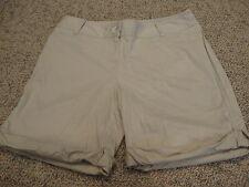 Womens J. JILL khaki shorts, 4