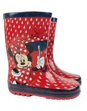 Brand New Minnie Mouse Raindrop Girl's Wellies Boots