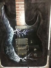 BC Rich USA Gunslinger Assassin lightning sky 1989 -93