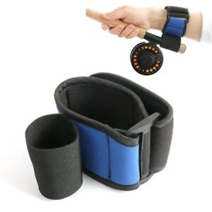 Neoprene Fishing Wrist Support Casting Aid Rod Holder Soft Elastic Cushion Tool