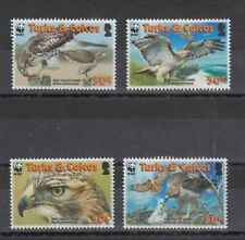 TIMBRE STAMP 4 TURKS & CAICOS Y&T#1679-82 OISEAU BIRD NEUF**/MNH-MINT 2007 ~C94
