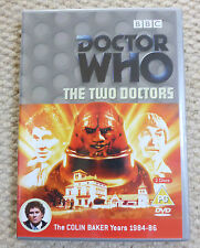 DOCTOR DR WHO - THE TWO DOCTORS - COLIN BAKER YEARS - BBC DVD - 2 DISC SET
