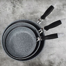 Japanese Non-Stick Frying Pan Skillet Omelet Cookware with Riveted Handle