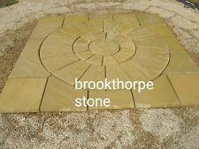 BRADSTONE S//STONE CIRCLE /& HEXAGON INSET 2.4M FOSSIL BUFF 21627