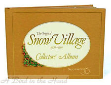 Dept 56 The Original Snow Village Collectors' Album 1976 – 1990 New, Illustrated