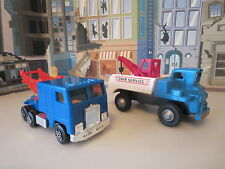 KENWORTH TOW TRUCK AND FUNMATE TOW TRUCK MADE IN HONG KONG AND JAPAN