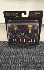MiniMates The X Files Mulder And Scully Poseable Mini-Figures (2015)