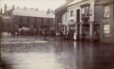 More details for raunds photo. flood by c.w.varley, raunds. rixon bros. jubilee bakery.