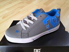 Taglia 36 - Scarpe Ragazzo DC Shoes Court Graffik Vulc Grey Blue Skate Sneakers