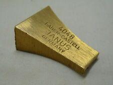 "Vintage FABER CASTELL ""JANUS"" No 4048 Brass Pencil Sharpener made in Germany #2"