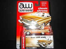 Auto World Plymouth Fury 1958 Copper 1/64 64042A