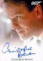 James Bond Archives Final Edition 2017 Christopher Bowen Autograph Card