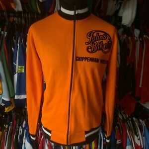CHIPPENHAM WHEELERS TRACK TOP CYCLING SHIRT 1970S VINTAGE MONSANTO SIZE ADULT L