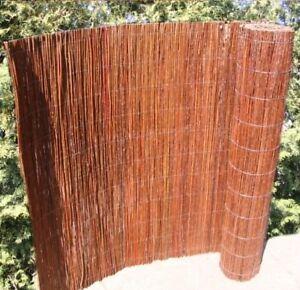 Weidenmatte Weidezaun Sichtschutzmatte Weide Windschutz Naturmatte 20 Größen