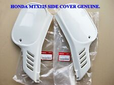 HONDA MTX125 MTX 125 SIDE COVER L/R GENUINE PARTS  #BI3022#